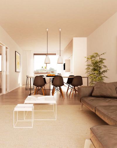 Nieuwbouwproject interieur render 2